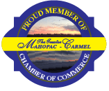 Logo Design Mahopac Chamber Member emblem
