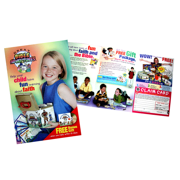 Great Bible Adventures Brochure