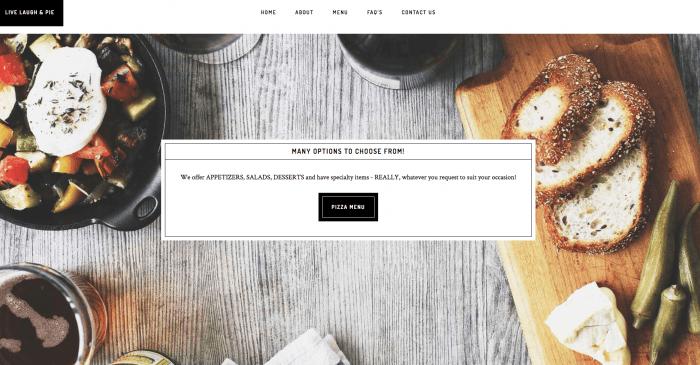 Lake Mahopac Graphic Design - Website Design - Live Laugh Pie
