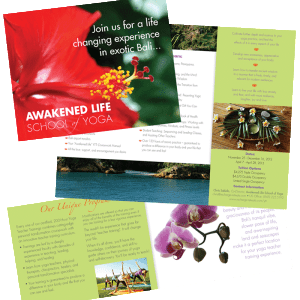 Awakened Life School of Yoga Brochure