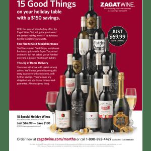 Zagat Ad Design