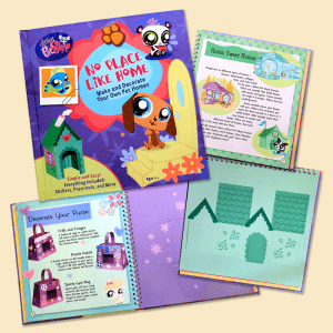 Print Design Littlest Pet Shop Book Design