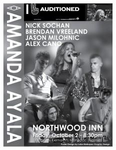Amanda Ayala Music Poster