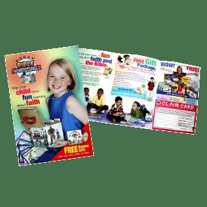Print Design- Great Bible Adventures Brochure