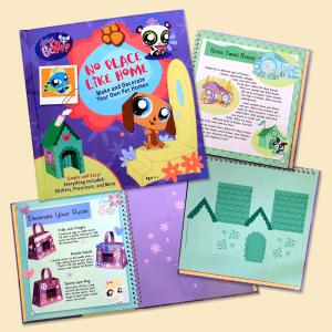 Print Design Littlest Pet Shop Book Design