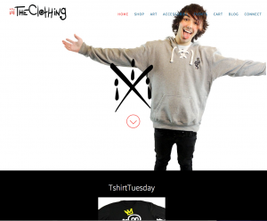 iiiTheClothing website