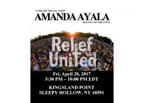 Amanda Ayala Relief United Poster