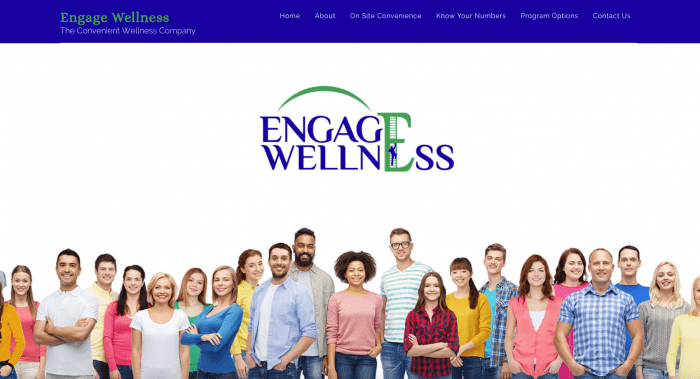 Engage Wellness Website Design Westchester County